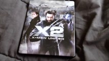 X2: X-Men United Blu-Ray Steelbook Unboxing