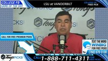 LSU Vanderbilt College Football Pick 9/21/2019