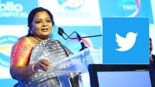 Tamilisai soundararajan tweet in telugu