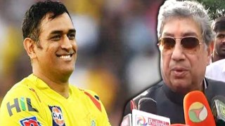 Dhoni will be captain of csk in next ipl: Srinivasan