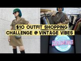 $10 Chic Outfit Shopping Challenge at Vintage Vibes Jakarta | Q2HAN