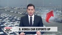 S. Korea's car exports rise 4.6% y/y in August