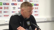 Garry Monk on Sheffield Wednesday's 2-0 win over Huddersfield Town