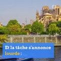 À Paris, le problème de plomb dépasse Notre-Dame