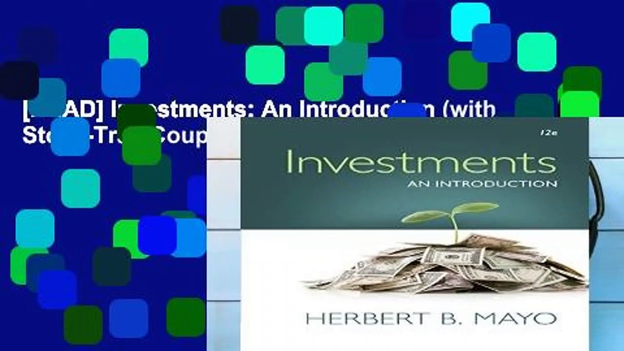 [READ] Investments: An Introduction (with Stock-Trak Coupon)