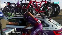 Tour d'Espagne : Jesus Ezquerra a fait sa demande en mariage lors de la 21e étape