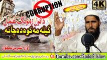 Pashto New HD Nazam - Geela Me kawa Da Cha Na By Shereen Ghamkhwar
