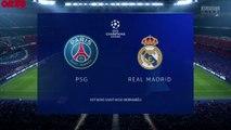 PSG - Real Madrid sur FIFA 20 : résumé, buts et résultats de notre simulation