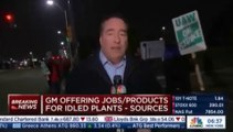 General Motors workers on strike