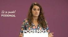 """Podemos espera que el Rey haga entender a Sánchez que """"el bipartidismo"""" terminó"""