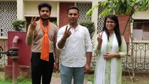 DUSU Polls   IANS Interview with ABVP wining candidates