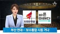 조국 고향서 뭉치는 한국-바른미래…'조국 파면 연대' 출범