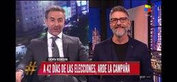 Luis Novaresio contó a quién votará  en las eleciones presidenciales