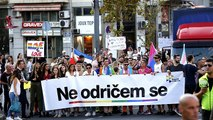 'I'm not giving up': Belgrade Pride calls for Serbia to address LGBT rights