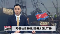 Unification Ministry: Food aid to N. Korea unlikely to be delivered