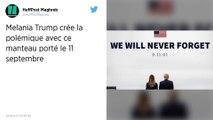 Polémique autour du manteau de Melania Trump lors des commémorations du 11 septembre
