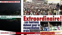Le Titrologue du 16 septembre 2019- Meeting de l'opposition: Extraordinaire