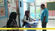 Election results in Tunisia start trickling in