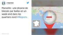 Marseille : Une dizaine de blessés par balles dans deux cités des quartiers nord