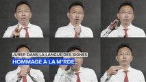 Jurer dans la langue des signes : Célébrez la parole