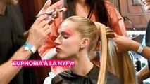 La Fashion Week de NY s'inspire des looks beauté de la série ''Euphoria''