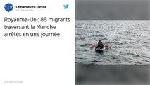 Neuf migrants, dont deux enfants, secourus dans une embarcation en panne sur la Manche