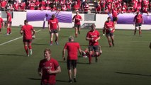 Wales prepare for the Rugby World Cup