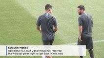 Messi gets medical green light, makes list for Dortmund game