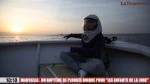 Le 18:18 - La belle histoire : ces enfants malades, obligés de vivre cachés du soleil, ont effectué leur baptême de plongée à Marseille