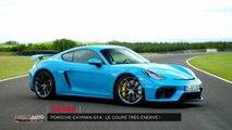 Porsche Cayman GT4 : Le coupé très énervé - Direct Auto - 14/09/2019