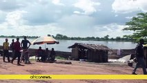 36 people dead as a cargo and passenger ship sinked in the DRC