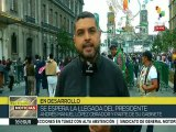 Celebran mexicanos el Día de la Independencia