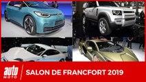 Salon de Francfort 2019 : toutes les nouveautés (l'intégrale)