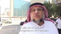 Des habitants de Riyad réagissent aux attaques contre les installations pétrolières d'Aramco