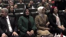Sümeyye erdoğan bayraktar, kırşehir'de panele katıldı