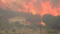 Már nem tarthat sokáig a tűzvész Zakíntosz szigetén