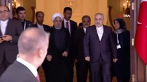 İran Cumhurbaşkanı Ruhani köşkten ayrıldı