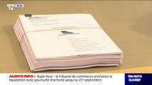Aigle Azur: le tribunal de commerce prononce la liquidation avec poursuite d'activité jusqu'au 27 septembre