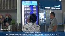 Sejumlah Penerbangan di Bandara Soekarno-Hatta <i>Delay</i> Akibat Kabut Asap