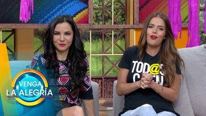 ¡Martha Higareda y Claudia Álvarez hablan sobre 'Tod@s Caen'! | Venga La Alegría