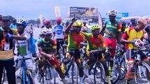Cyclisme | Le Burkina Faso sur la 1ère marche du podium