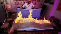 Tüzes törülköző - veszélyes egyiptomi masszázstechnika