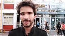"""Juan Branco à Cognin : """" Je faisais l'objet de menaces physiques"""""""