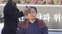 한국당 황교안, 조국 장관 사퇴 촉구 삭발 / YTN