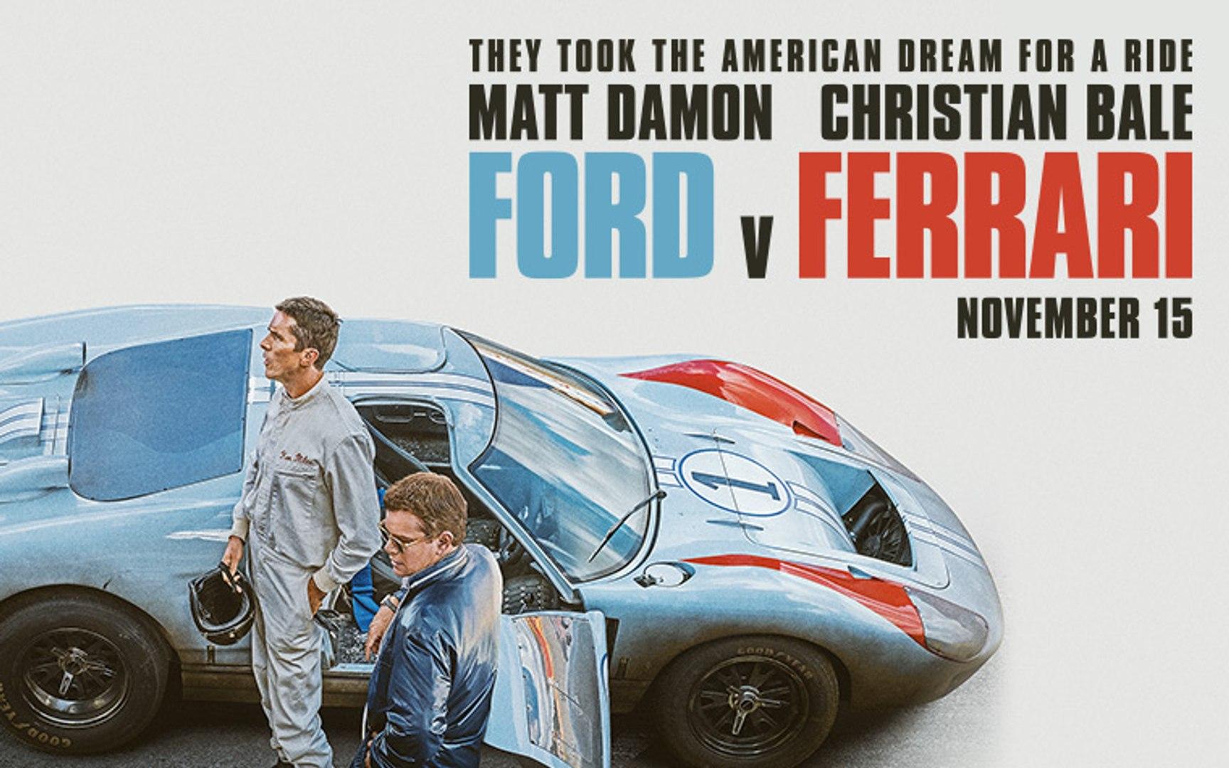 Ford V Ferrari Trailer 11 15 2019 Video Dailymotion