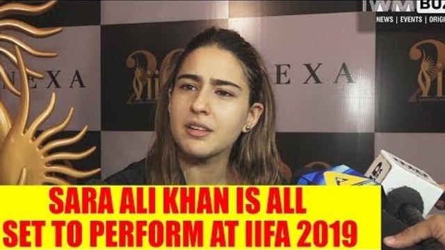 I will be performing on my Mom and Dad's song at IIFA: Sara Ali Khan