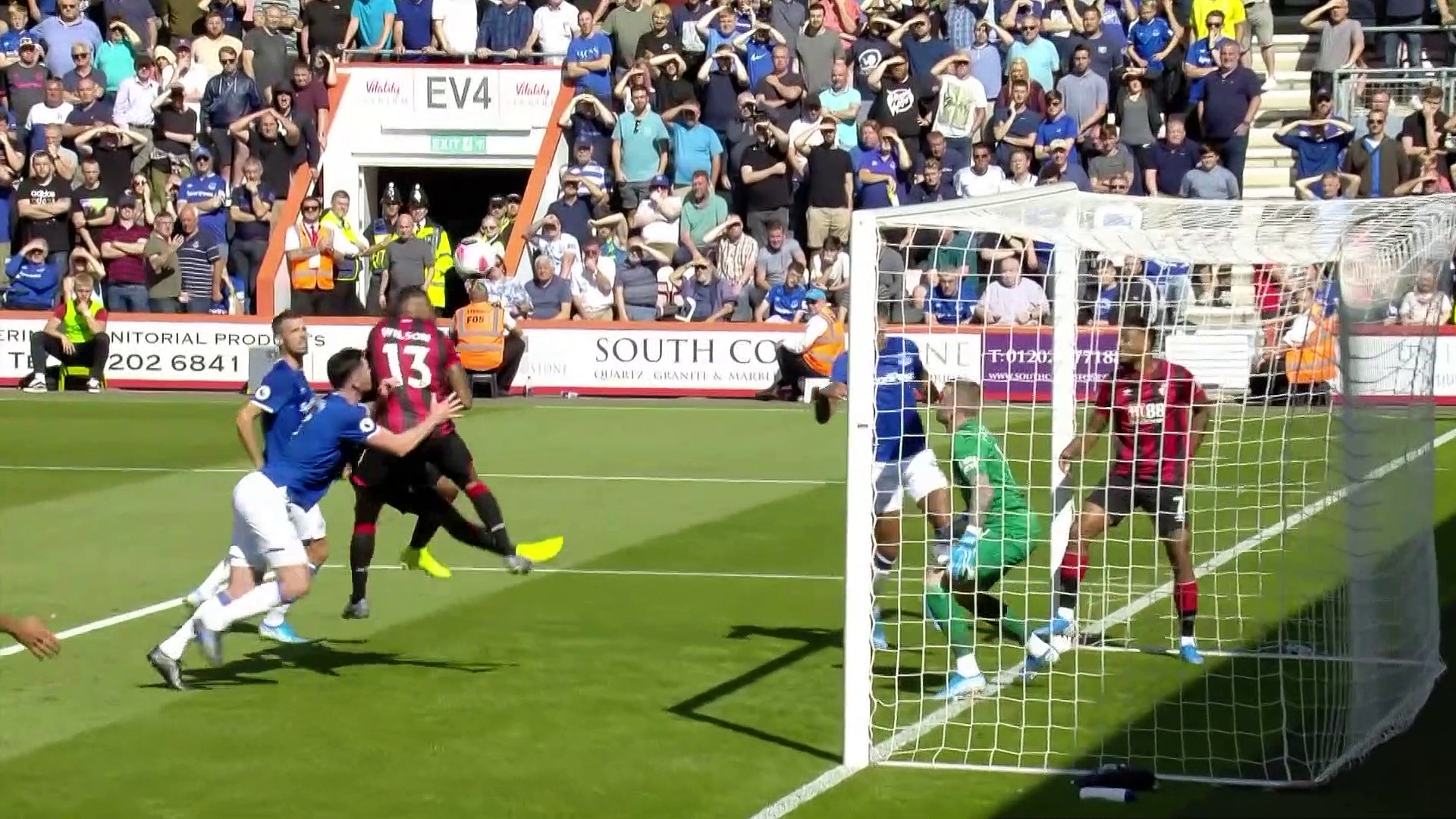 5.Hata / Bournemouth - Everton: 3-1 (Özet)
