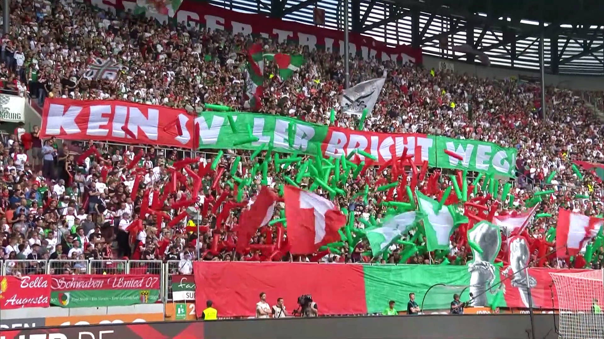 4. Hafta / Augsburg - Eintracht Frankfurt: 2-1 (Özet)