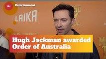 Hugh Jackman Honored At The Government House