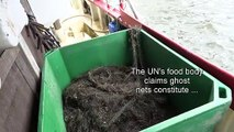"""Finland begins fishing plastic """"ghost nets"""" out of the Baltic"""